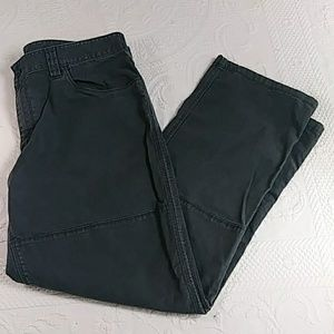 North Face Casual Pants Size 38 x 32 Gray